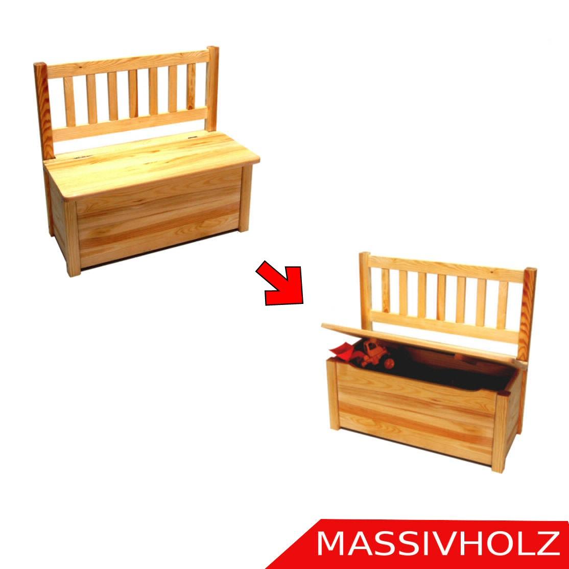 Kindersitzbank Kinderbank Kinder Bank Truhe Sitzbank Stuhl Holz ...